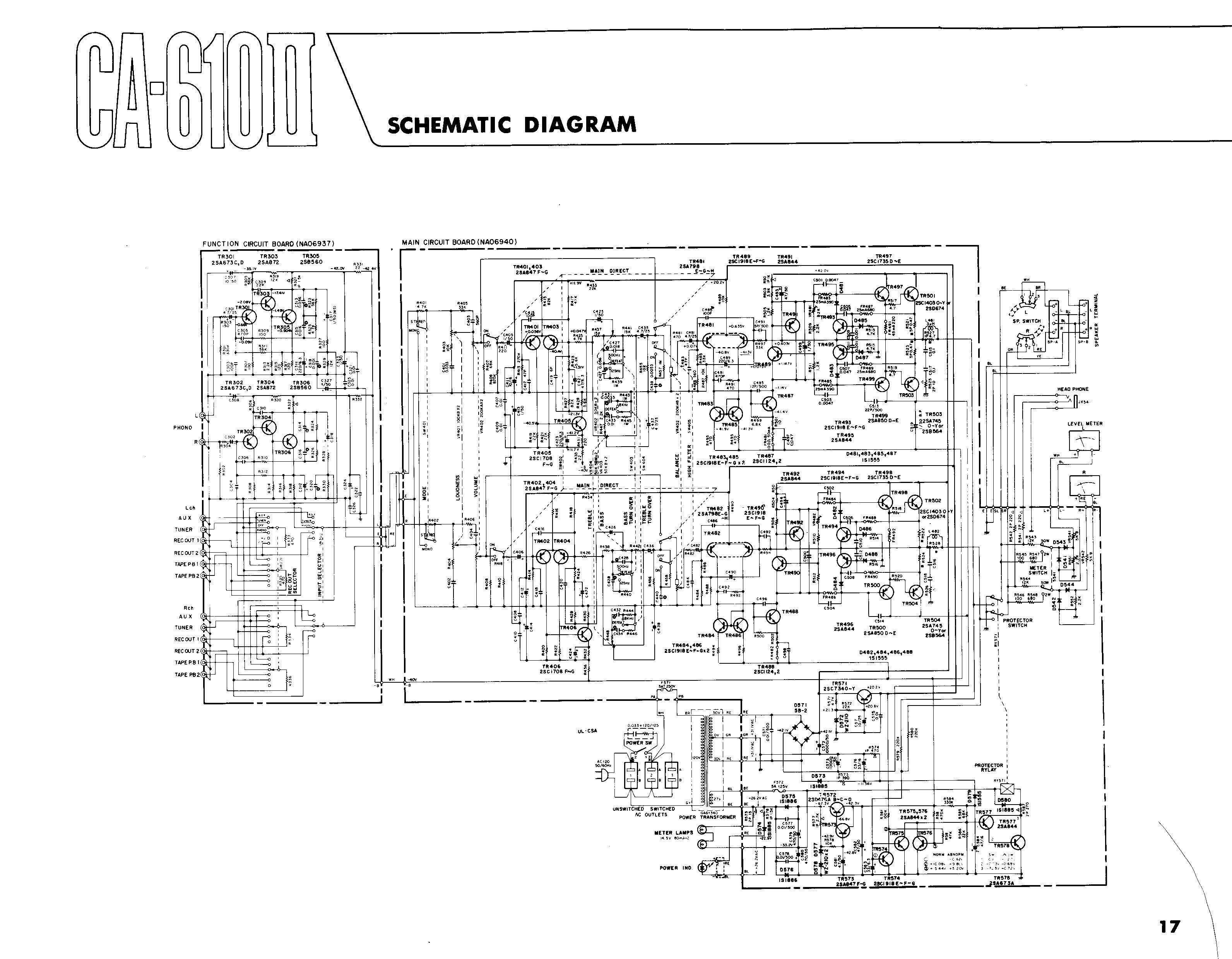 ca 6102ii s index of yamaha yamaha schematic diagram at n-0.co
